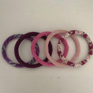 Sashka Co Glass Bead Bracelets